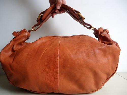 bolsa couro marc marc