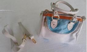 a1f8f234f Bolsa Vickaldany Cor Branca Original - Bolsas Azul aço no Mercado ...