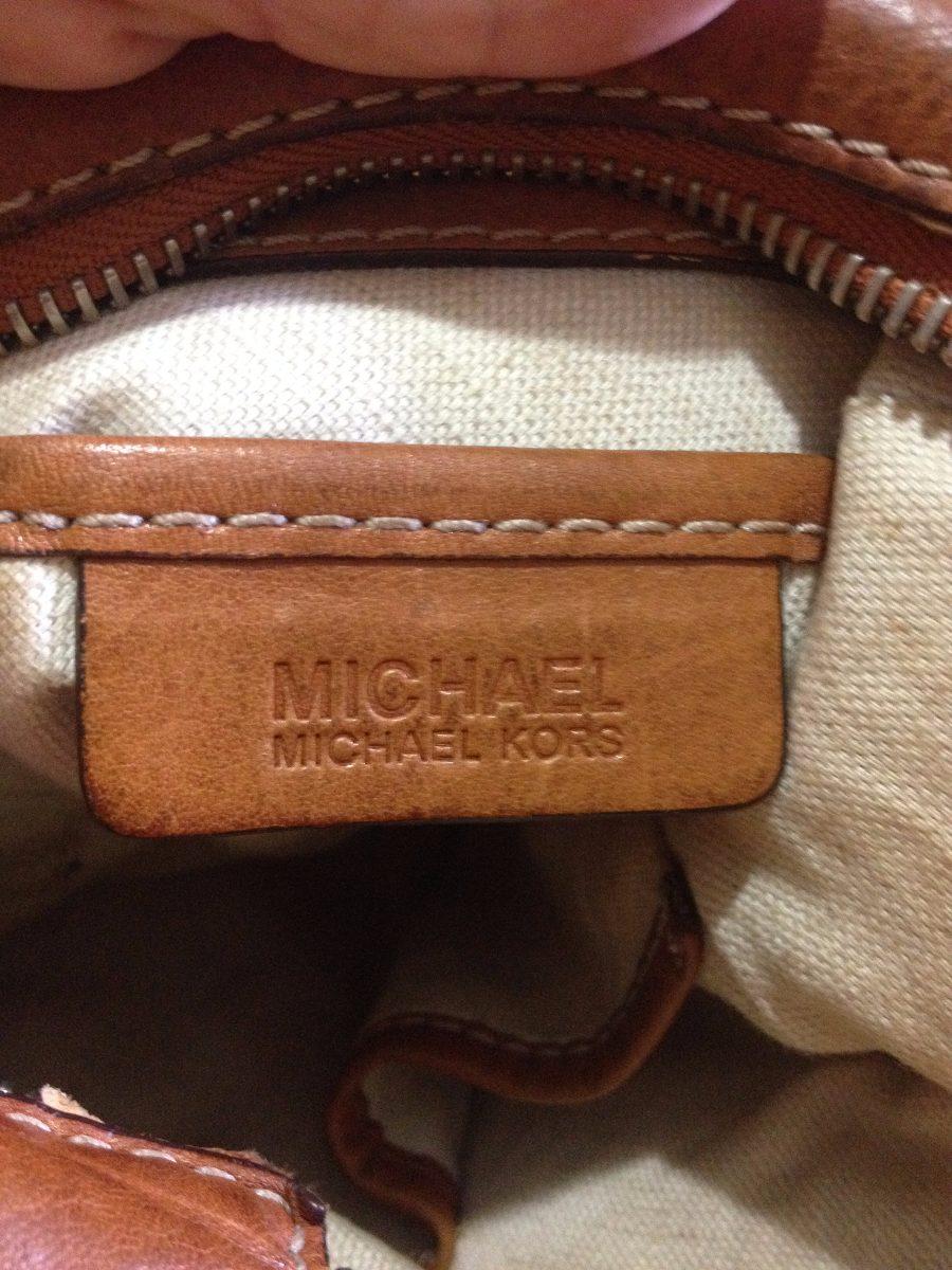 5d044e4dd Bolsa Couro Vintage Michael Kors Original - R$ 219,99 em Mercado Livre