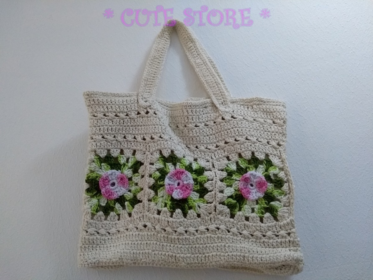 Bolsa De Croche Para Casamento : Bolsa croch? barbante barroco flor artesanal al?a forrada