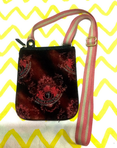 bolsa crossbody juicy coutore original velour