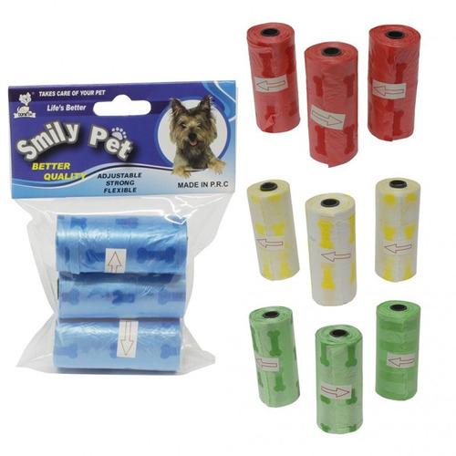 bolsa d aseo perro 45 unidades repuesto para el dispensador