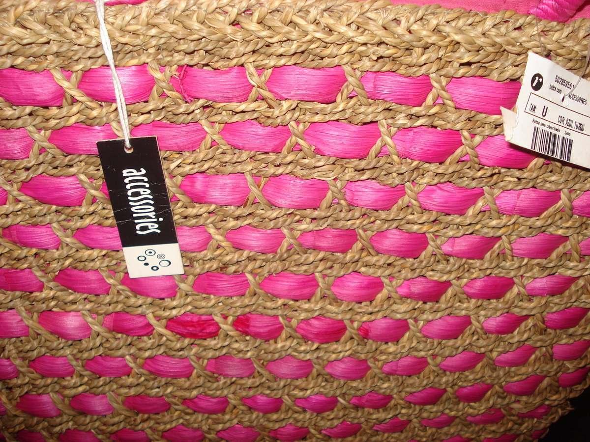 d9aba6c04 Bolsa Da Renner Em Palha Nova Com Etiqueta - R$ 110,00 em Mercado Livre