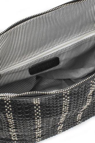 bolsa dama originales negra bolsos mujer estoperoles u81508