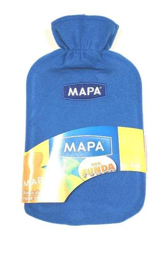 bolsa de agua caliente mapa con funda premium - factura a/b