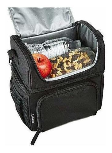 bolsa de almuerzo aislada y en forma de lonchera bolsa grand
