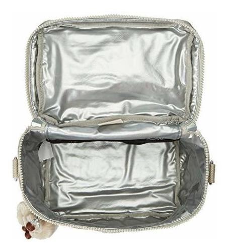 bolsa de almuerzo con aislamiento kipling graham, correa cru