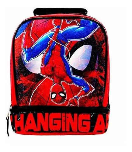 bolsa de almuerzo con licencia de spiderman