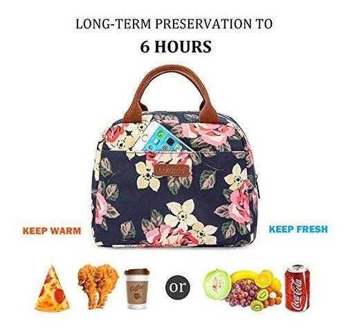 bolsa de almuerzo lokass bolso refrigerador bolso de mano de