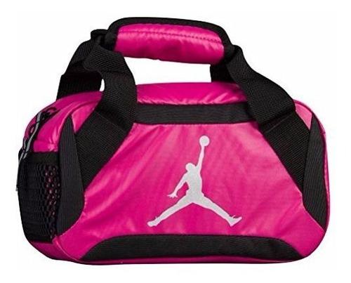 bolsa de almuerzo nike jumpman premium vivid pink - black -