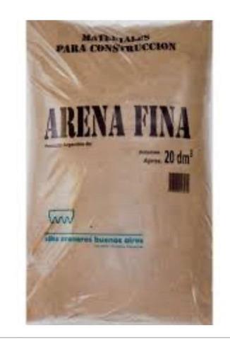 bolsa de arena fina x 20dm3 (28kg aprox) sellada x m3