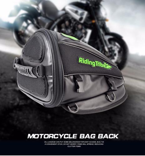 bolsa de banco para motos - acessórios bagagem alforge