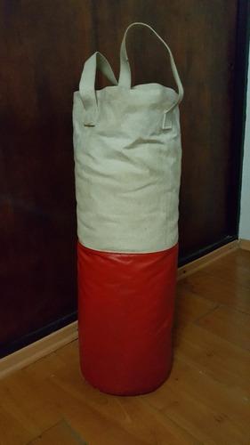 bolsa de boxeo con soporte y relleno incluido