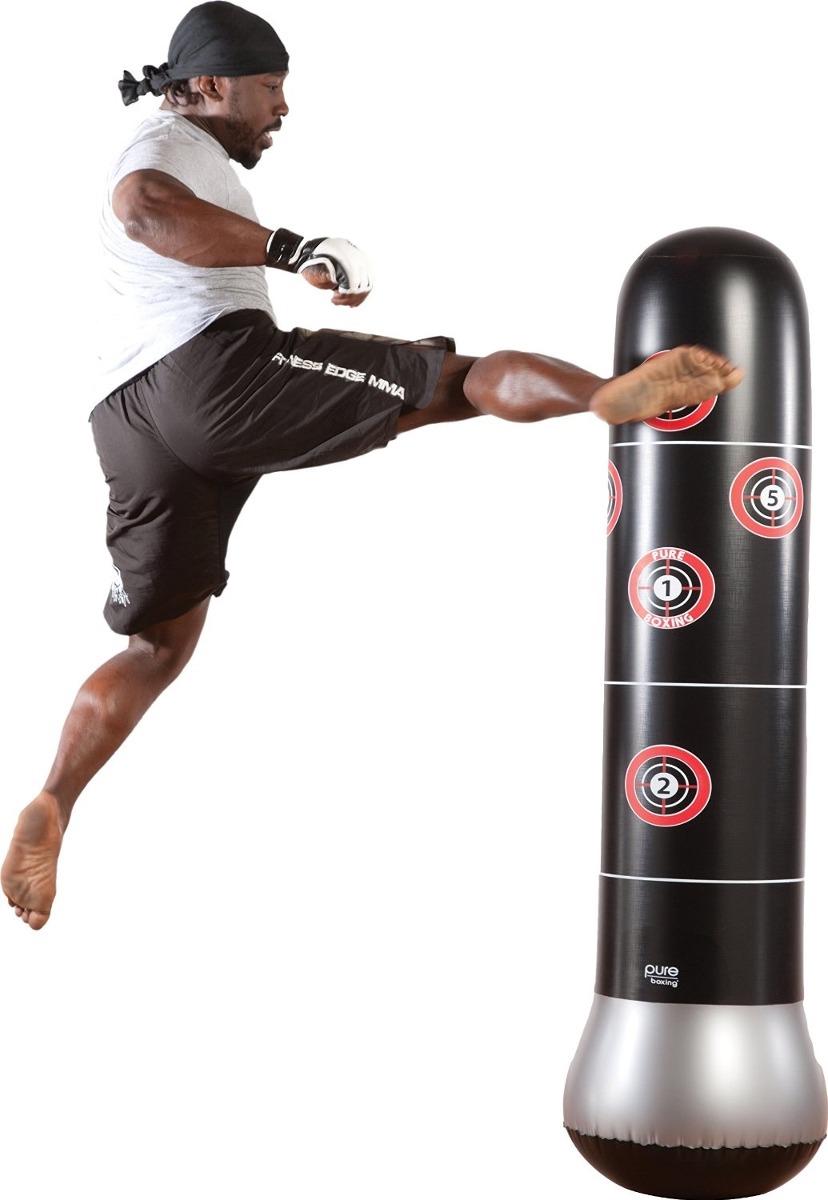 Bolsa De Boxeo Pure Boxing Mma Inflable Negro 1 090 00