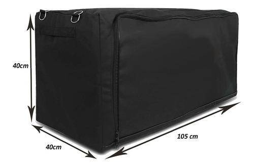 bolsa de caçamba  gm montana organizador de malas lançamento