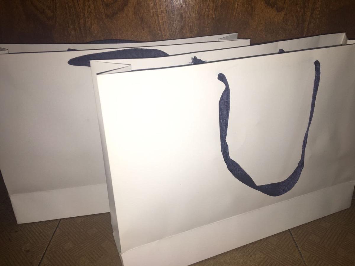 8b3ccd300 bolsa de carton blanca lisas 30x42x11 pack 100 unidades ofta. Cargando zoom.
