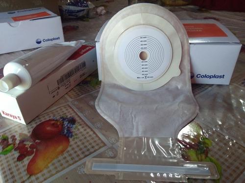 bolsa de colostomia (coloplast)