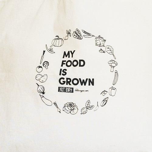 bolsa de compras  my food is grown