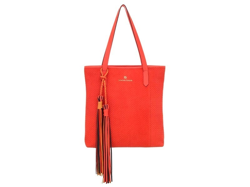 ab4e8489e Bolsa De Couro Feminina Vermelha - Smartbag - R$ 319,90 em Mercado Livre