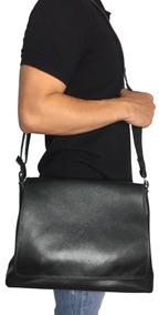 e94e4134b Bolsa Carteiro Masculina - Bolsas de Couro Marrom no Mercado Livre Brasil