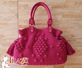 1800d7b92 Bolsa Saco Croche - Bolsas Femininas no Mercado Livre Brasil