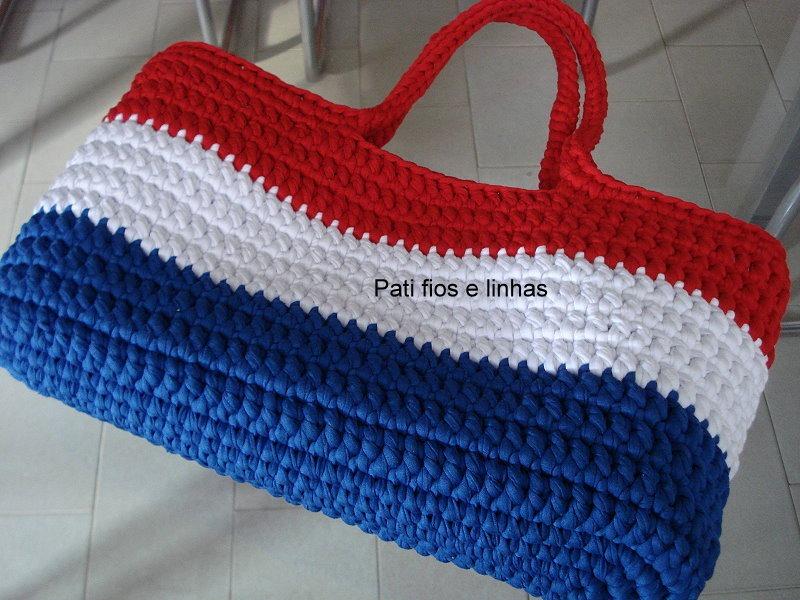 Bolsa De Mão Feita De Croche : Bolsa de croch? r em mercado livre