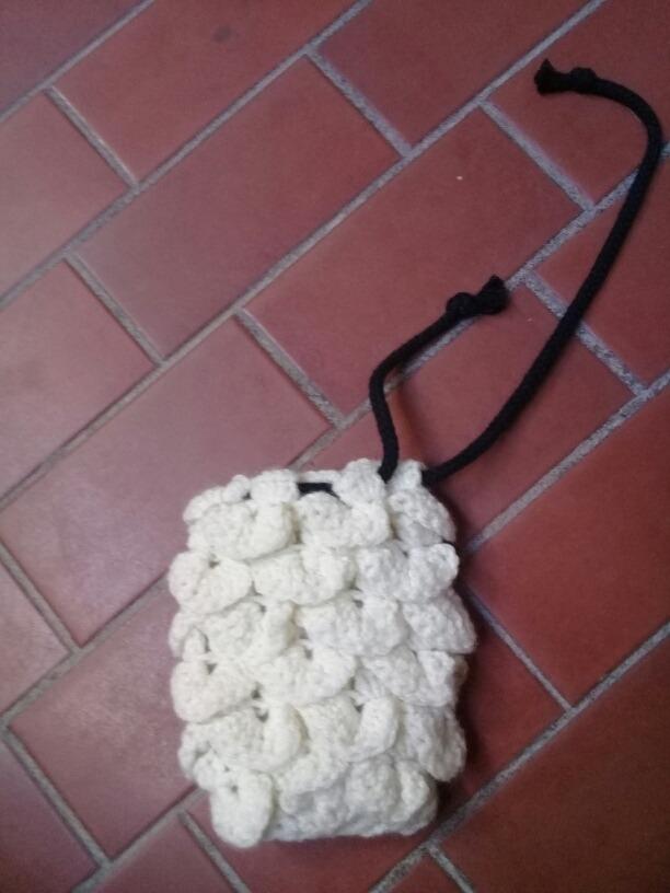Bolsa De Dados Rpg Tejida Crochet - $ 150,00 en Mercado Libre