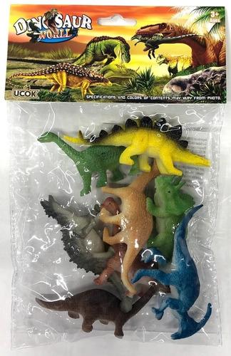 bolsa de dinosaurios chicos variedad lyon toys @ mca