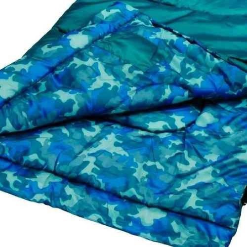 bolsa de dormir 66 y 168 cm niño kid camo coleman