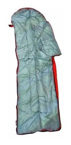 bolsa de dormir 84 cm y 191 cm rojo scout coleman