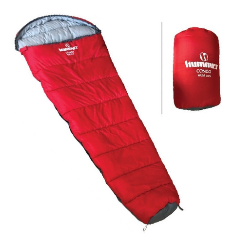 bolsa de dormir camping congo mummy 300 temp extr 10°-0°º