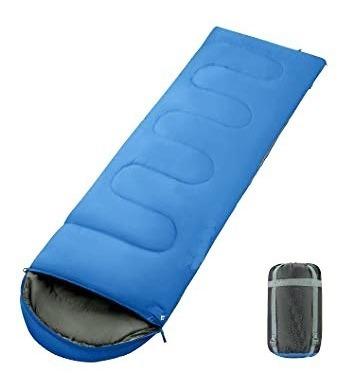 bolsa de dormir campking b-153 0° a 12°cc/funda de compresió