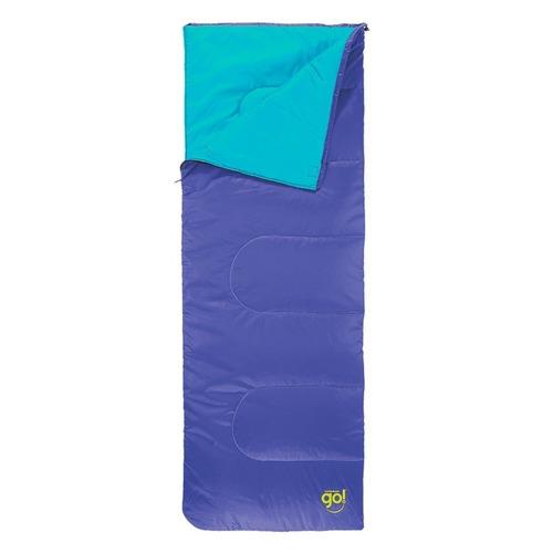 bolsa de dormir coleman go 15-25º + aislante 10mm de regaloº