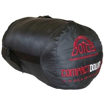 bolsa de dormir doite compact down pluma + aislante térmico