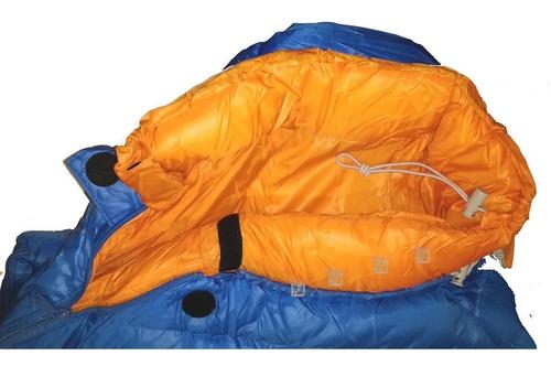 bolsa de dormir hi tec cocoon -5ºc extrema pluma compacta