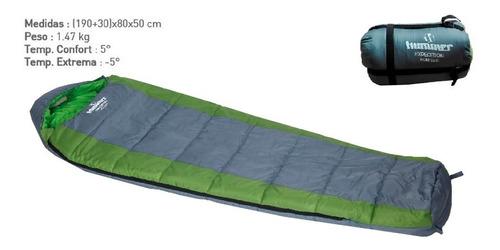 bolsa de dormir momia hummer exp 350d camping -5° palermo°