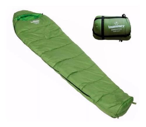 bolsa de dormir momia hummer exp 400d camping -10° palermo°