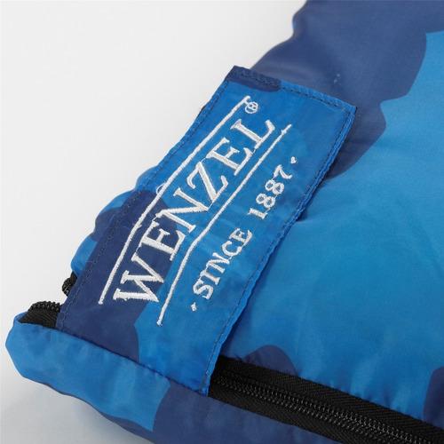bolsa de dormir sleeping bag moose 40º azul wenzel 49659