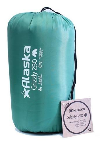 bolsa de dormir térmica 0º grados alaska grizzly 250
