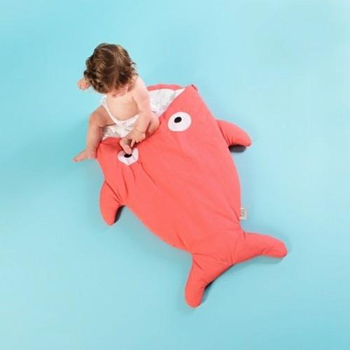 bolsa de dormir tiburón,porta infant talle 1  de 0 a 6 meses