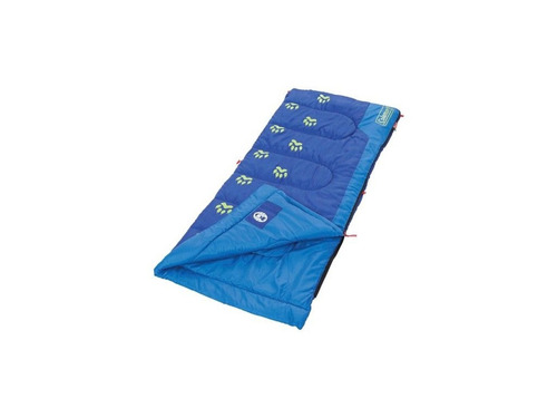 bolsa de dormir youth infantil azul brilla oscuridad