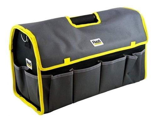 bolsa de ferramentas com alça metálica razi - rzbf002