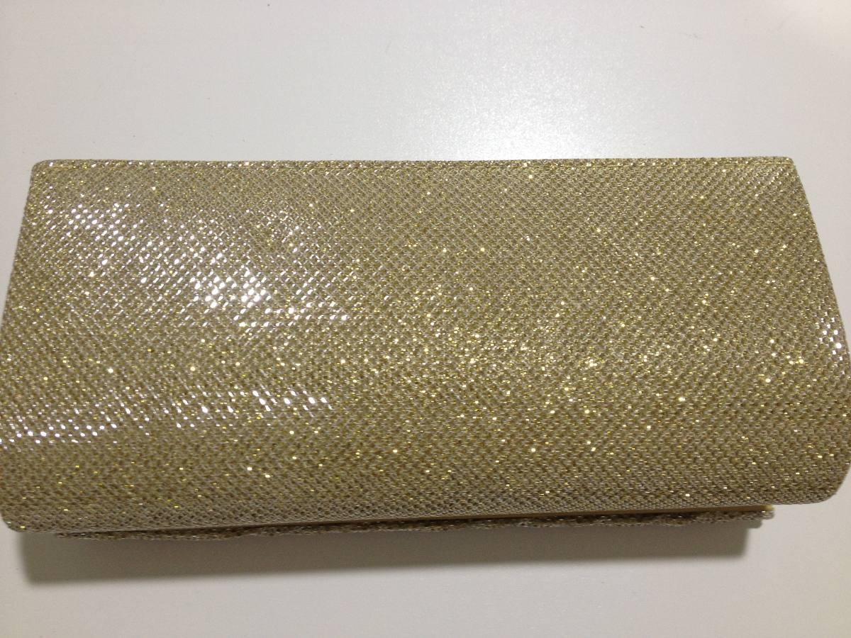 Bolsa De Mao Dourada Para Festa : Bolsa de festa em e carteira cor dourada r
