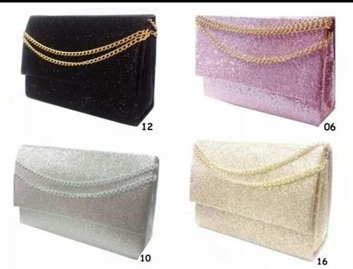 bolsa de festa carteira feminina kit 8 peças para revenda
