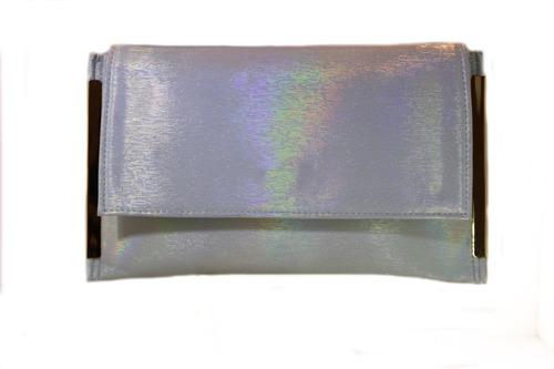 bolsa de fiesta clutch con metal a los costados 03fn124 a19