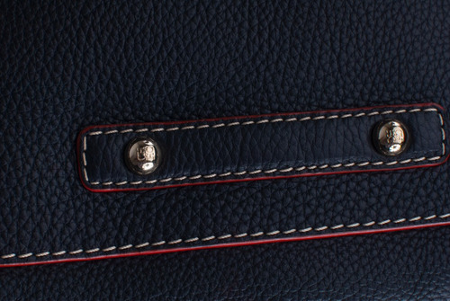 bolsa de fin de semana carolina herrera color azul marino