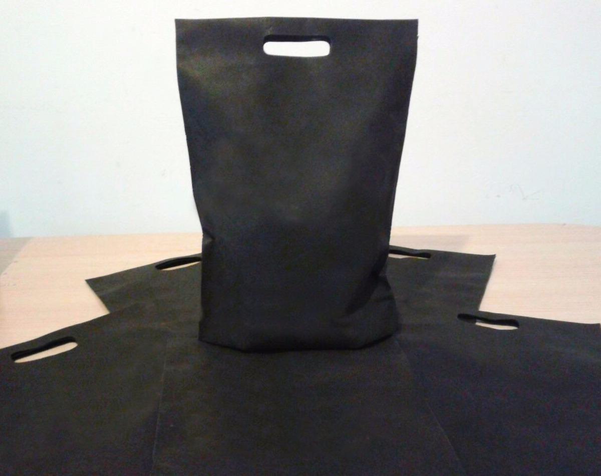 Bolsa De Friselina Negra Termosellada 30x40 Sin Estampa - $ 12,00 en ...