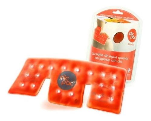 bolsa de gel clic pac pescoço calor instantâneo térmica