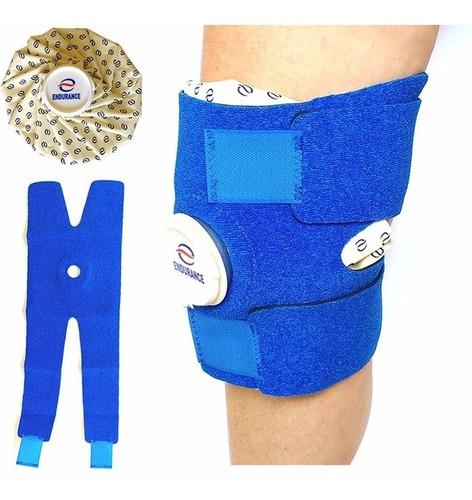 bolsa de gelo e água quente joelho 2 l original endurance nf