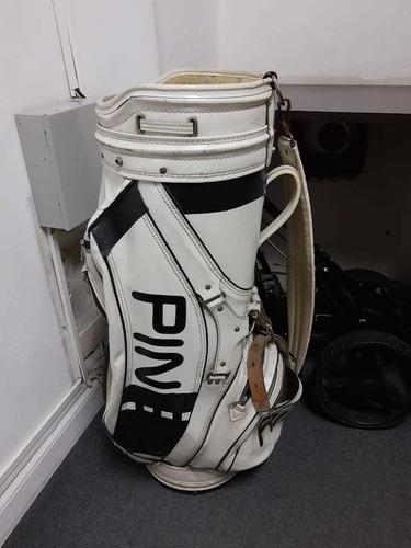 bolsa de golf ping de cuero